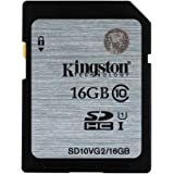 Kingston SD10VG2/16GB scheda SD UHS-I SDHC/SDXC classe 10 - 16GB