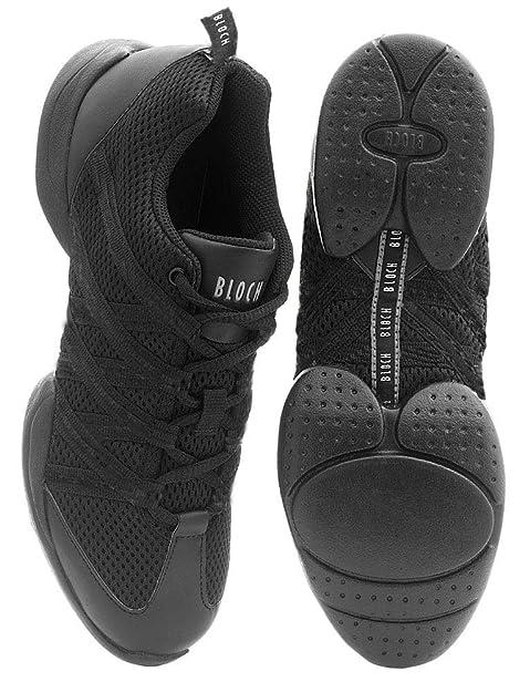 Bloch 524 Criss Cross Tanz Sneaker Schwarz Größe 42.5