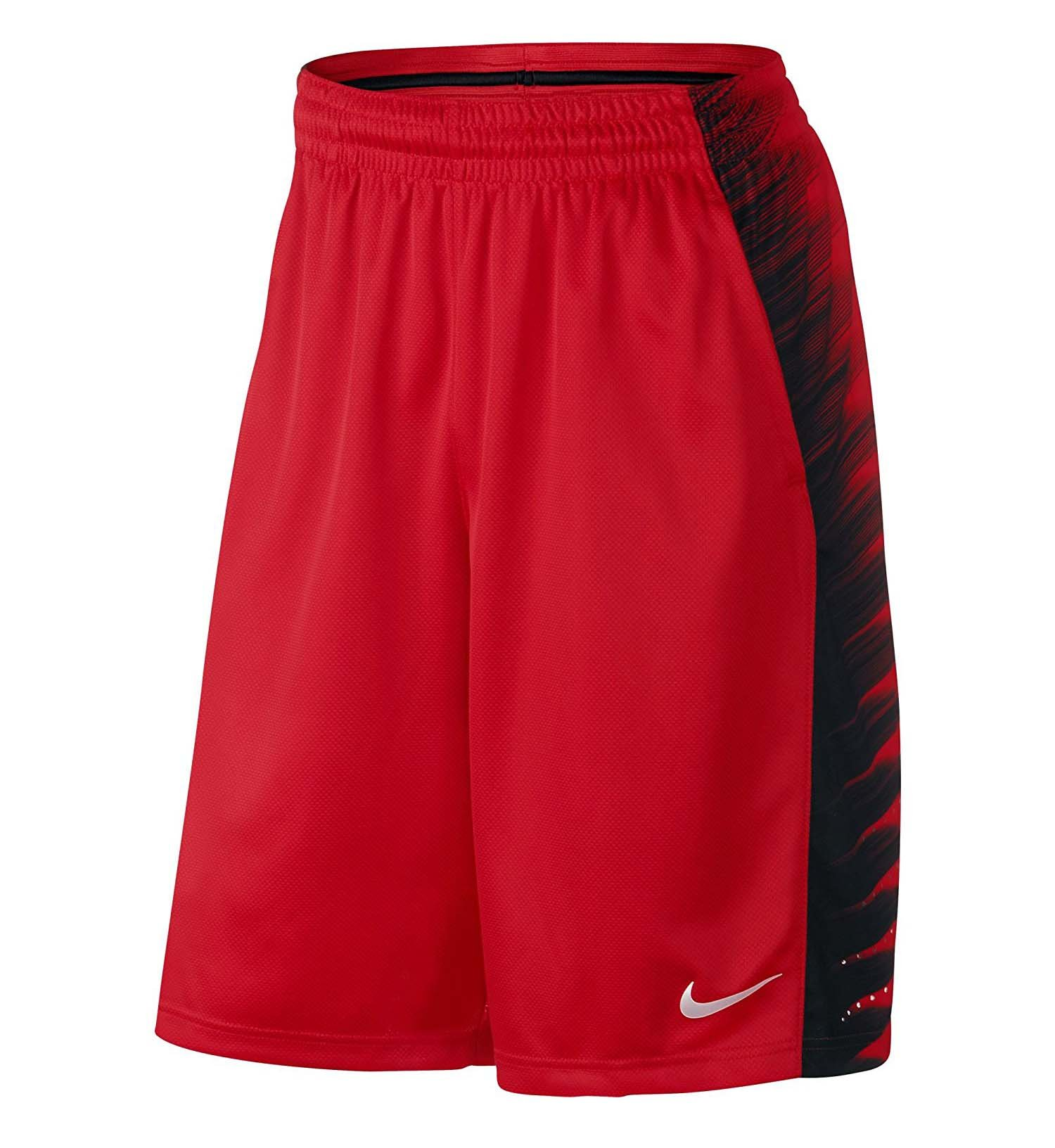 Nike Mens Elite Wing Training Shorts University Red by Nike