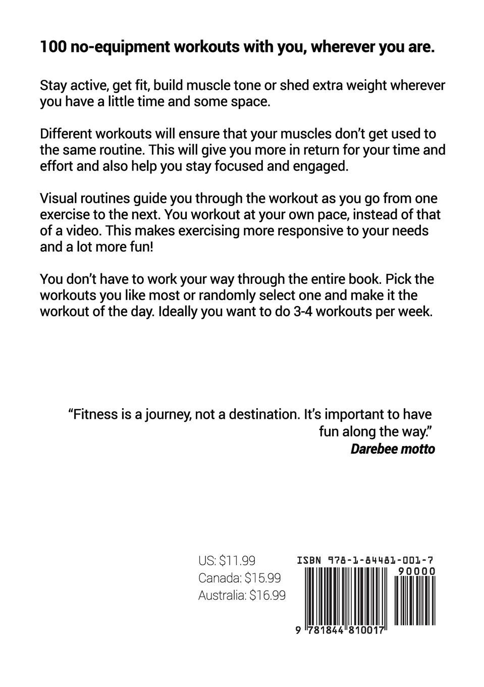 Pocket Workouts - 100 no-equipment workouts: Train any time