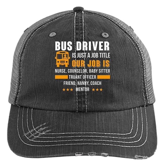98a24bb2b Amazon.com: I'm A Bus Driver Knit Cap, It Is Just A Job Title Hat ...