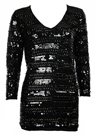 97cb7d4d923 Sutton Studio Womens Embellished Cashmere Tunic (PM, Black) [Apparel] at  Amazon Women's Clothing store: Tunic Shirts