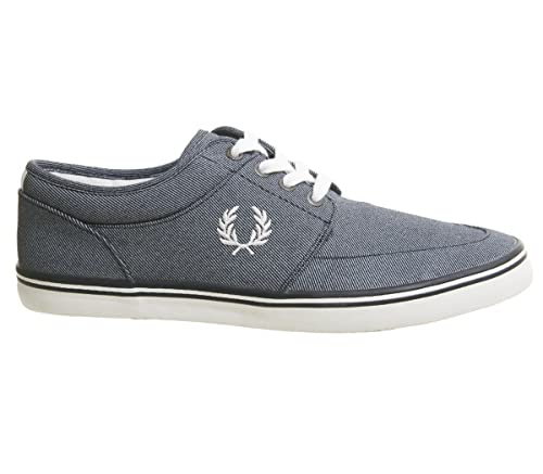 Fred Perry Zapatillas StratfordPrinted Marino: Amazon.es: Zapatos y complementos