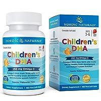 Nordic Naturals Children's DHA Strawberry - Children's Fish Oil Supplement for Healthy...