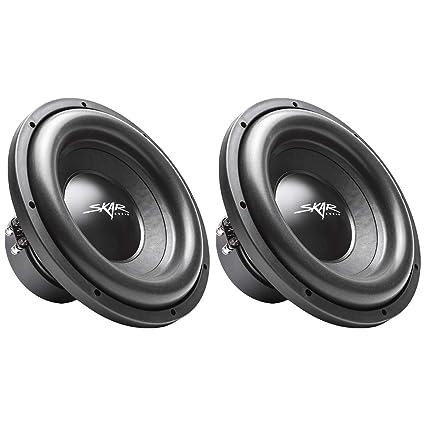 (2) Skar Audio SDR-12 D4 12
