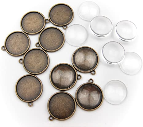 Bulk 20pcs Double star Antique Silver Charms Pendants Jewelry Making DIY 23*20mm