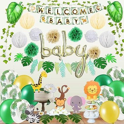 Jungle baby shower Jungle theme Baby shower Jungle Diaper cake safari baby shower decoration Jungle baby shower decorations