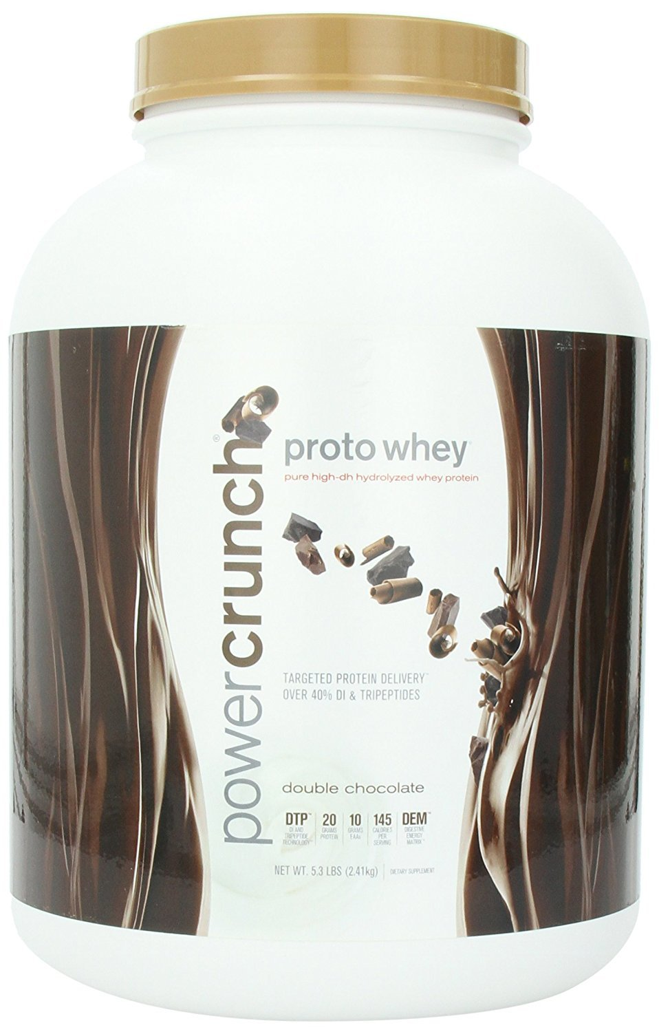 Proto whey pure high-dh hydrolyzed whey protein double chocolate 5.3 lb 2.41kg