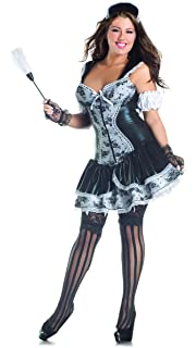 Amazon.com: Francés Maid Plus tamaño adulto disfraz – Plus ...