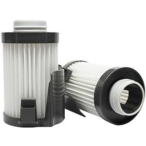 UpStart Battery 2-Pack Replacement Eureka Optima Pet Lover 439AZ Vacuum Dust Cup Filter - Compatible Eureka DCF-10, DCF-14 Filter