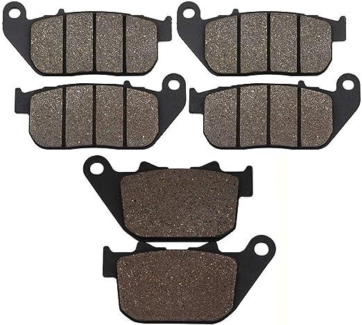 Cyleto anteriore e posteriore pastiglie freno per Harley Davidson XL1200/XL1200/C XL1200S Sportster 1200/Custom//sport 2000/2001/2002/2003
