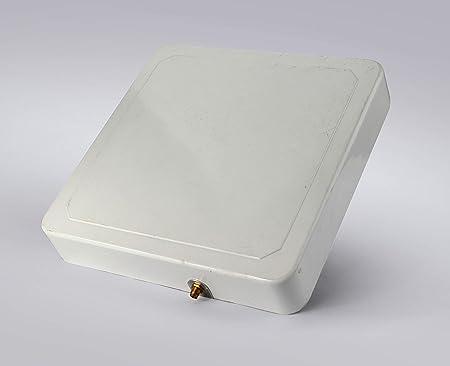 Bestga BSRA-02SR IP65 865-868MHz 6dBic Circular Rfid Antena con conector SMA-50KFD Adecuado para Guardia de Entrada, Gestión de Almacenes, Logística y ...