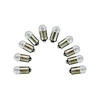 Camco 54710 Replacement 53 Auto Instrument Bulb - Box of 10: Automotive [5Bkhe0815282]