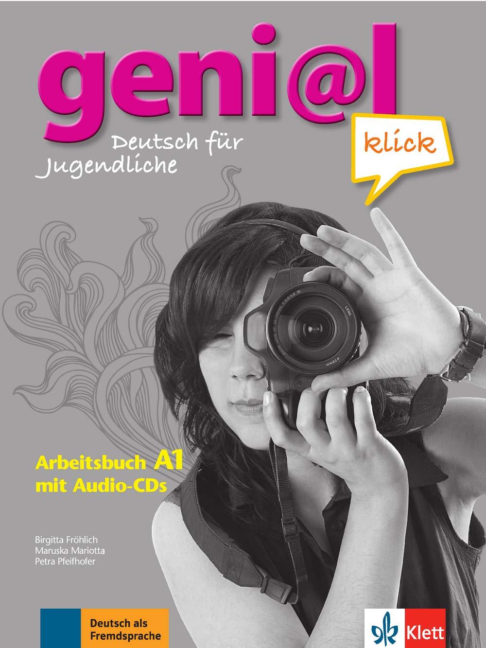 geni@l klick A1: Deutsch für Jugendliche. Arbeitsbuch mit 2 Audio-CDs