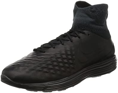 6993484a7ac5 Image Unavailable. Image not available for. Color  NIKE Lunar Magista II FK  Cross Trainers Black Black Anthracite White 852614 001