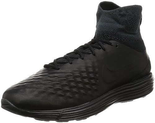 finest selection cbb33 8f7a0 Nike Lunar Magista II FK, Scarpe Running Uomo, Nero (Schwarz Anthrazit