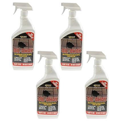 4pc 1 L de aceite oil-away gasolina Diesel grasa quitamanchas Diy solución limpiador