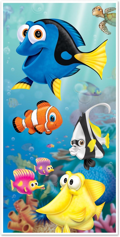 "Beistle Under The Sea Door Cover, 30"" x 5', Multicolor"