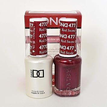 DND (Gel & Matching Polish) Set (477 - Red Stone)