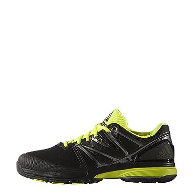 best sneakers f1928 297a1 adidas Stabil4Ever, Herren Hallenschuhe schwarz Black -  CBLACKSYELLOFTWWHT 38 ...