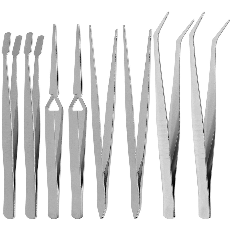 com-four® 3X Spannungs- und Stromprüfer, Multitool mit Schraubenzieher und Phasenprüfer/Elektrozubehör (03 Stück - Spannungsprüfer)