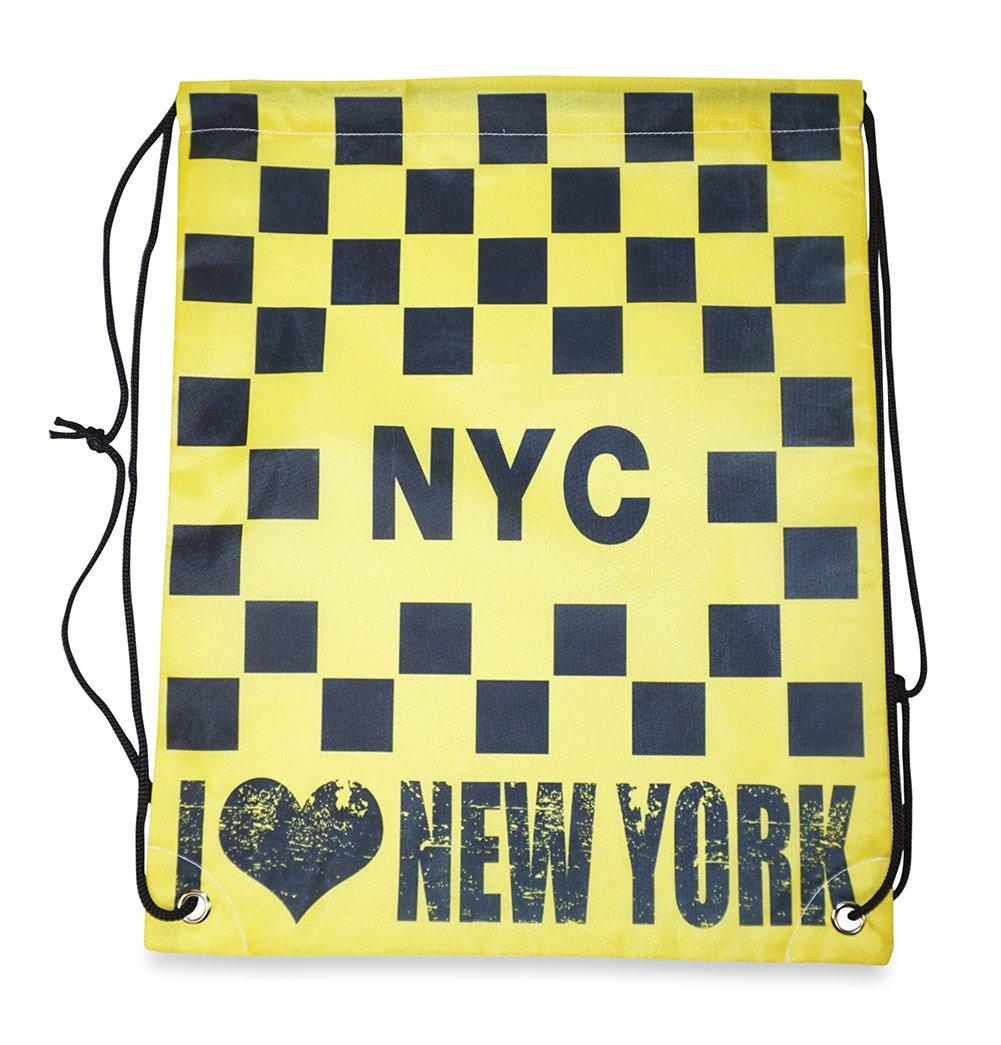 I Love New York Drawstring Backpack
