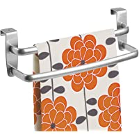mDesign - Theedoekenrek - handdoekenrek/handdoekenrail - deurbevestiging/zonder boren - ideaal voor keukens en badkamers…