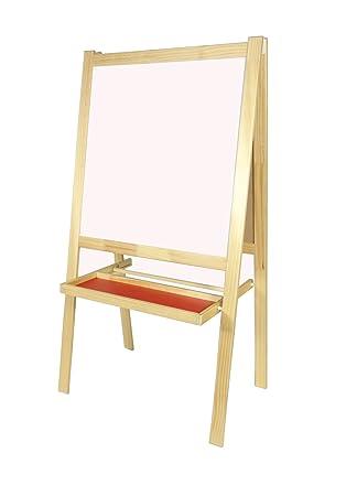 large easel children s chalk board white board folding eraseboard
