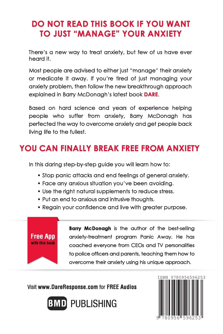 Workbooks best anxiety workbook : Dare: The New Way to End Anxiety and Stop Panic Attacks: Barry ...
