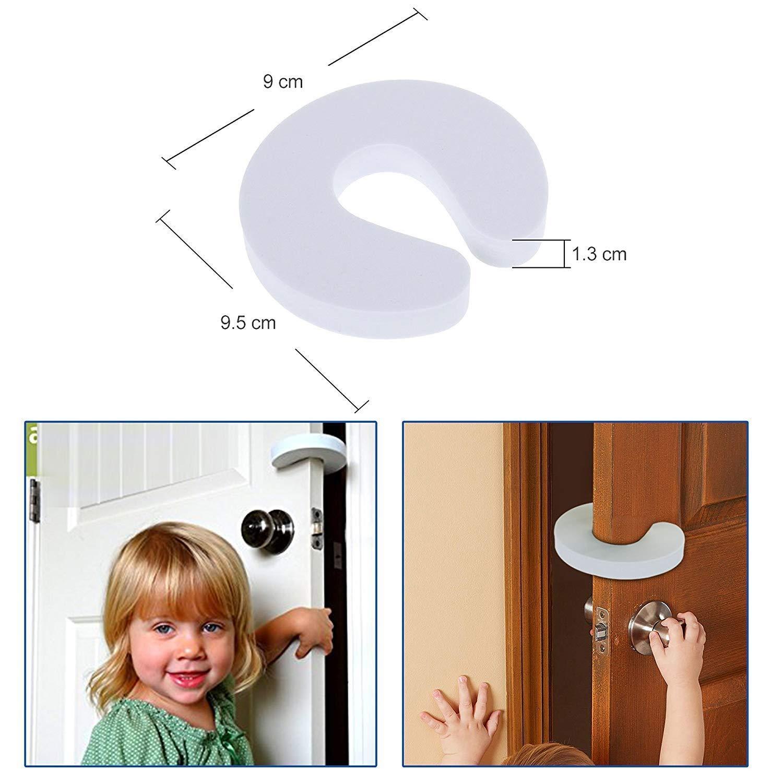pince-doigts Stop coince doigts 5 x Bloc porte b/éb/é s/écurit/é enfant