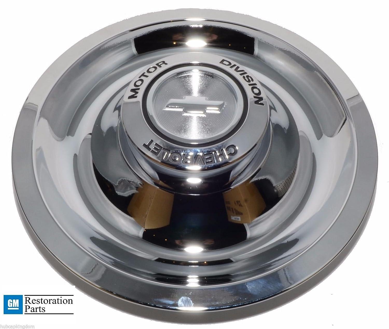 Amazon com: GM Restoration Chrome RALLY Wheel FLAT CMD Center Cap