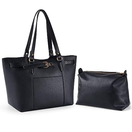 99f0539349b7a Damen Shopper Handtasche Henkeltasche Schultertasche aus Nylon Robust Groß  Damentaschen