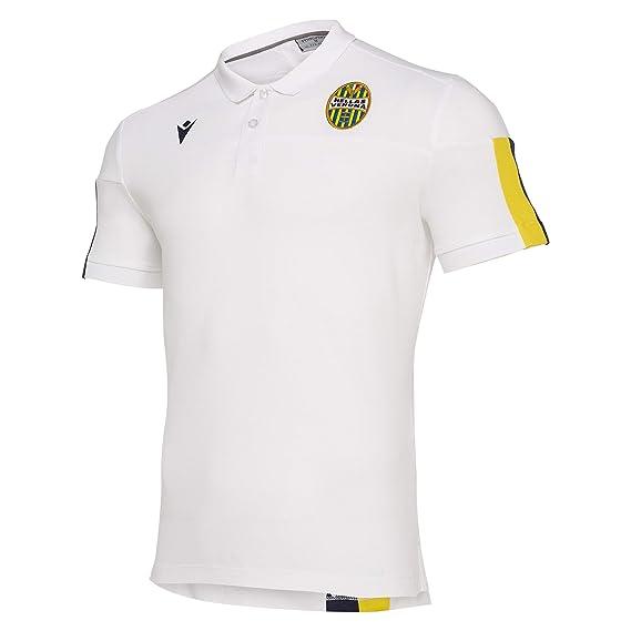 Macron Polo piqué Hellas Vérone FC 19/20 Staff: Amazon.es ...