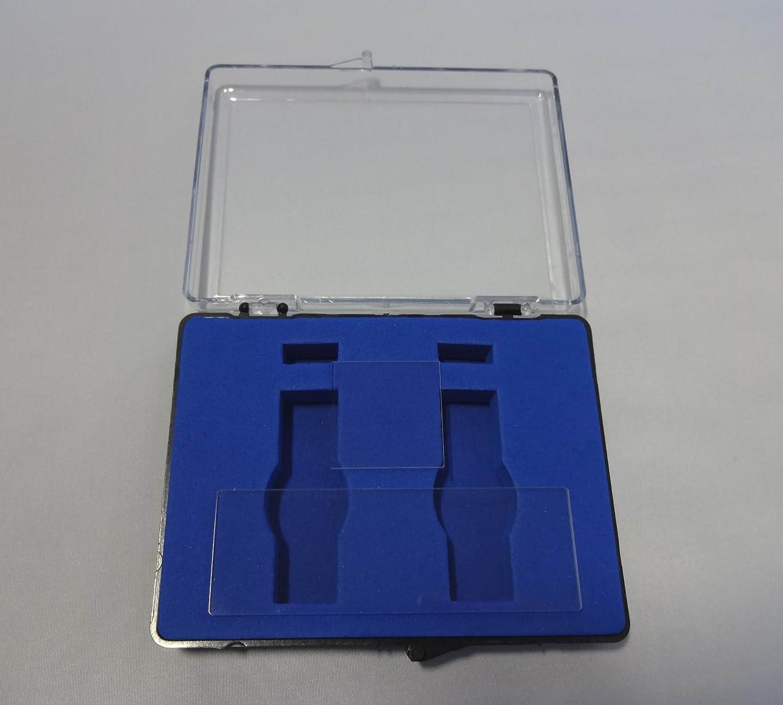 Quartz Cover Slip 1x1,25.425.4mm Microscope Quartz Slide 3x1,76.225.4mm