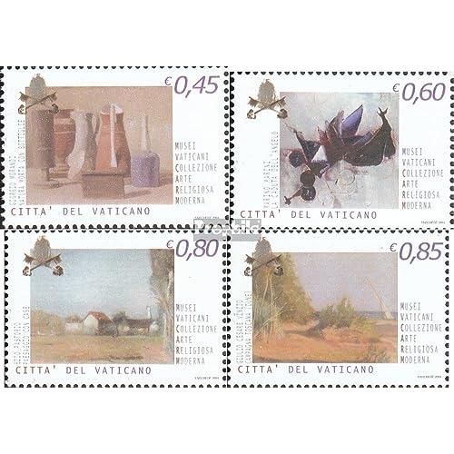 Vatikanstadt 1506A y-1509A y (complète.Edition.) 2004 Peintures (Timbres pour les collectionneurs)