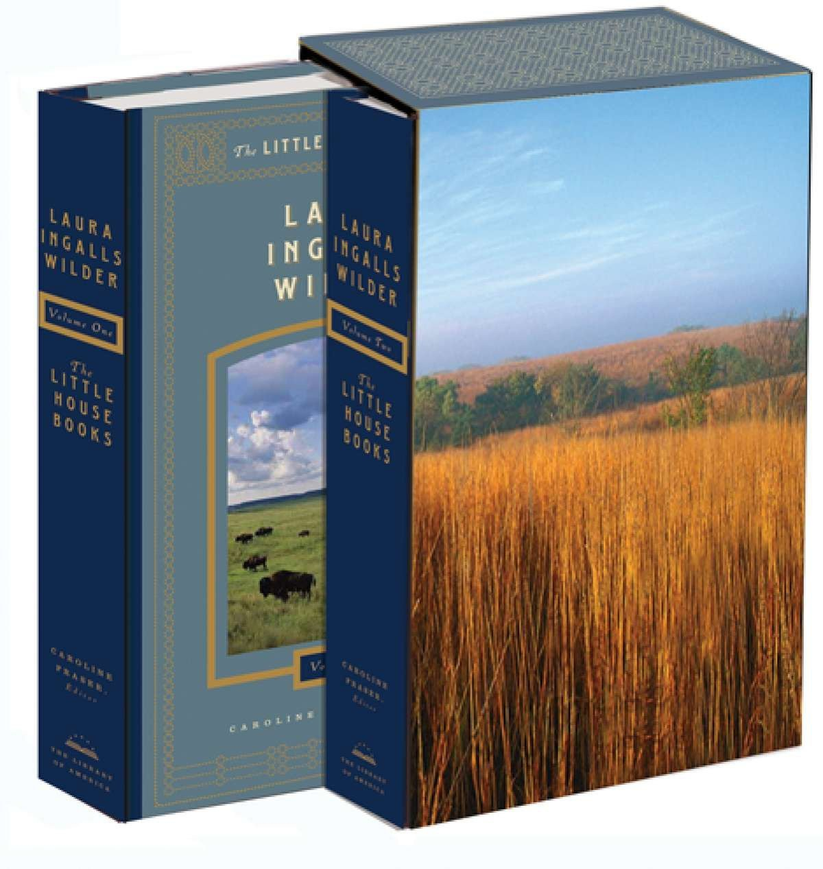 The Little House Books (2 Volume Set) by Library of America