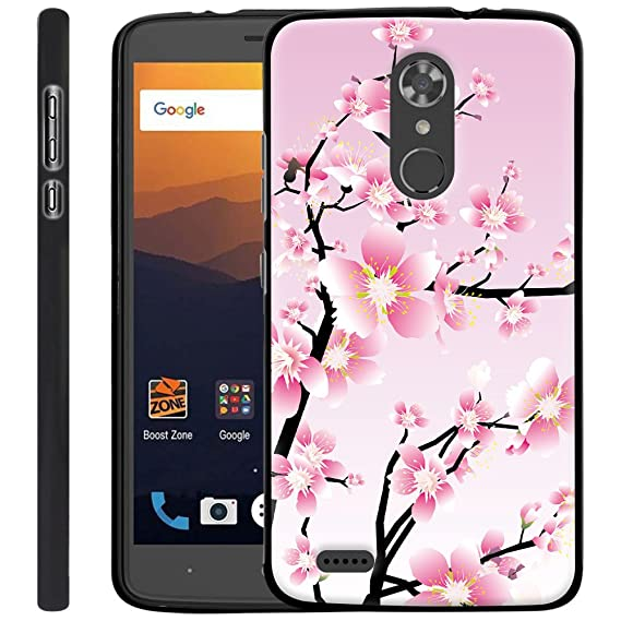 buy online 12b73 4e53a ZTE MAX XL Case, Harryshell Lightweight Slim Thin Tpu Gel Skin Flexible  Soft Rubber Protective Case Cover for ZTE MAX XL N9560 (B-5)