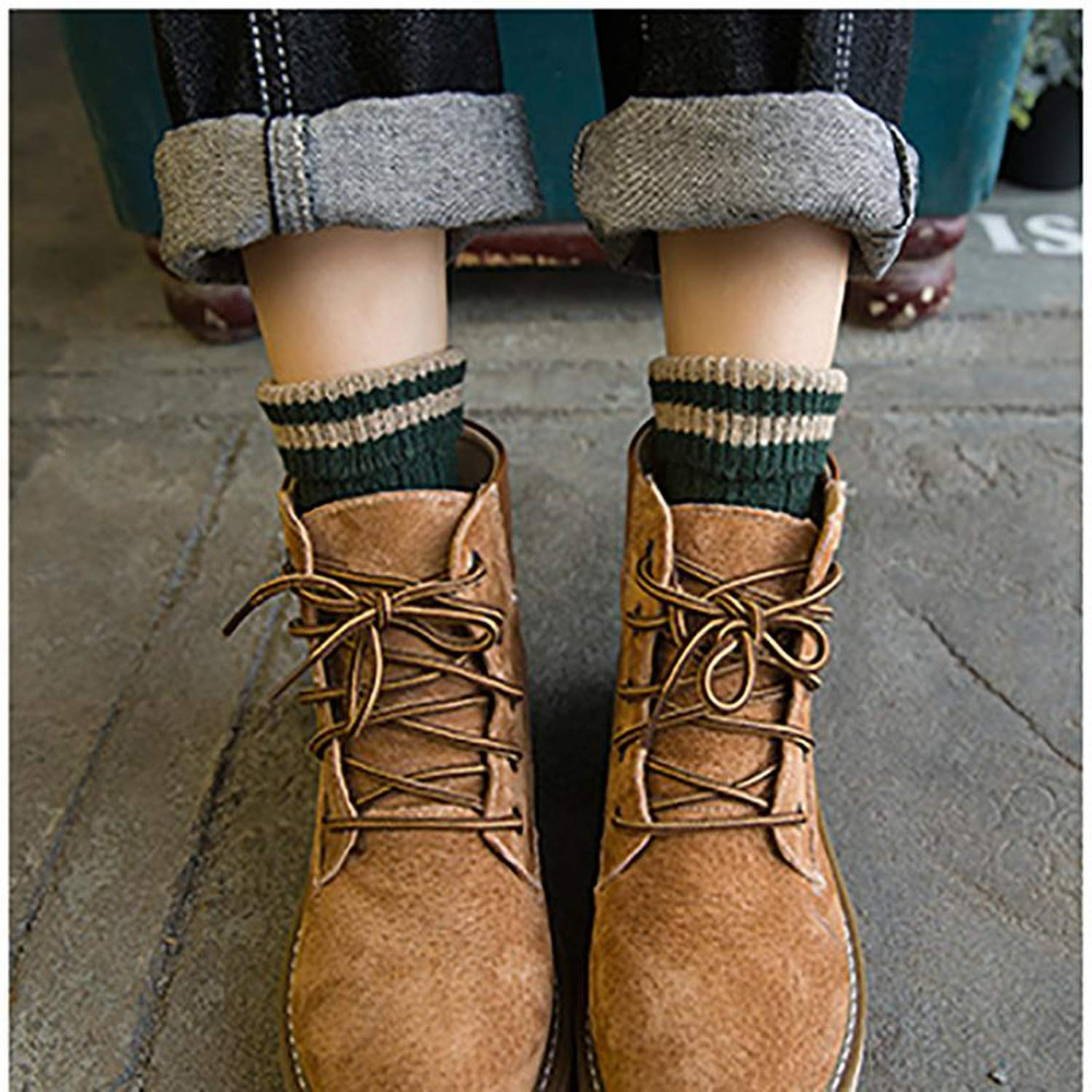 Amazon.com: Warm Women Socks Striped 3D Autumn Winter Christmas Woman Female Funny Sock Calcetines,Army Green: Clothing
