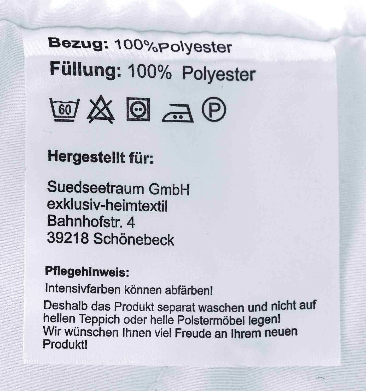 Coussin dallaitement exclusif HEIMTEXTIL Coussin rembourr/é avec surpiq/ûre 40 x 145 cm Coussin dallaitement Blanc.