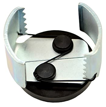 """motivx herramientas ajustable Filtro de aceite llave para quitar 2,5 """" – 3"""