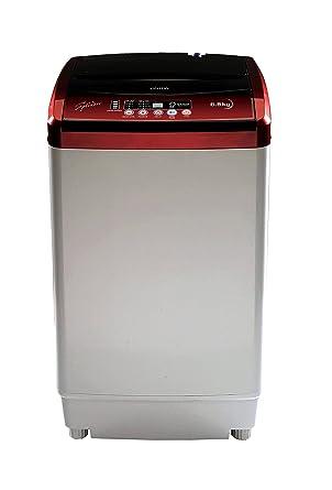 Onida 6.5 kg Fully-Automatic Top Loading Washing Machine (WO65TSPLDD1, Lava Red)
