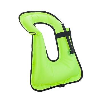 Amazon.com: chfine chaleco de natación hinchable para niños ...