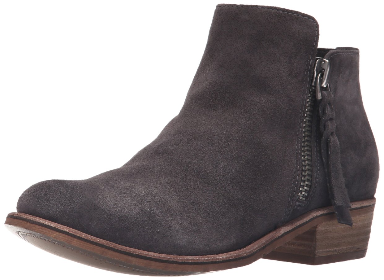 Dolce Vita Women's Sutton Ankle Bootie B01C6FXMUQ 6 UK/6 M US|Anthracite Suede