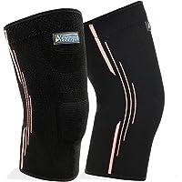 ASOONYUM Compression Running Knee Sleeve (Black)