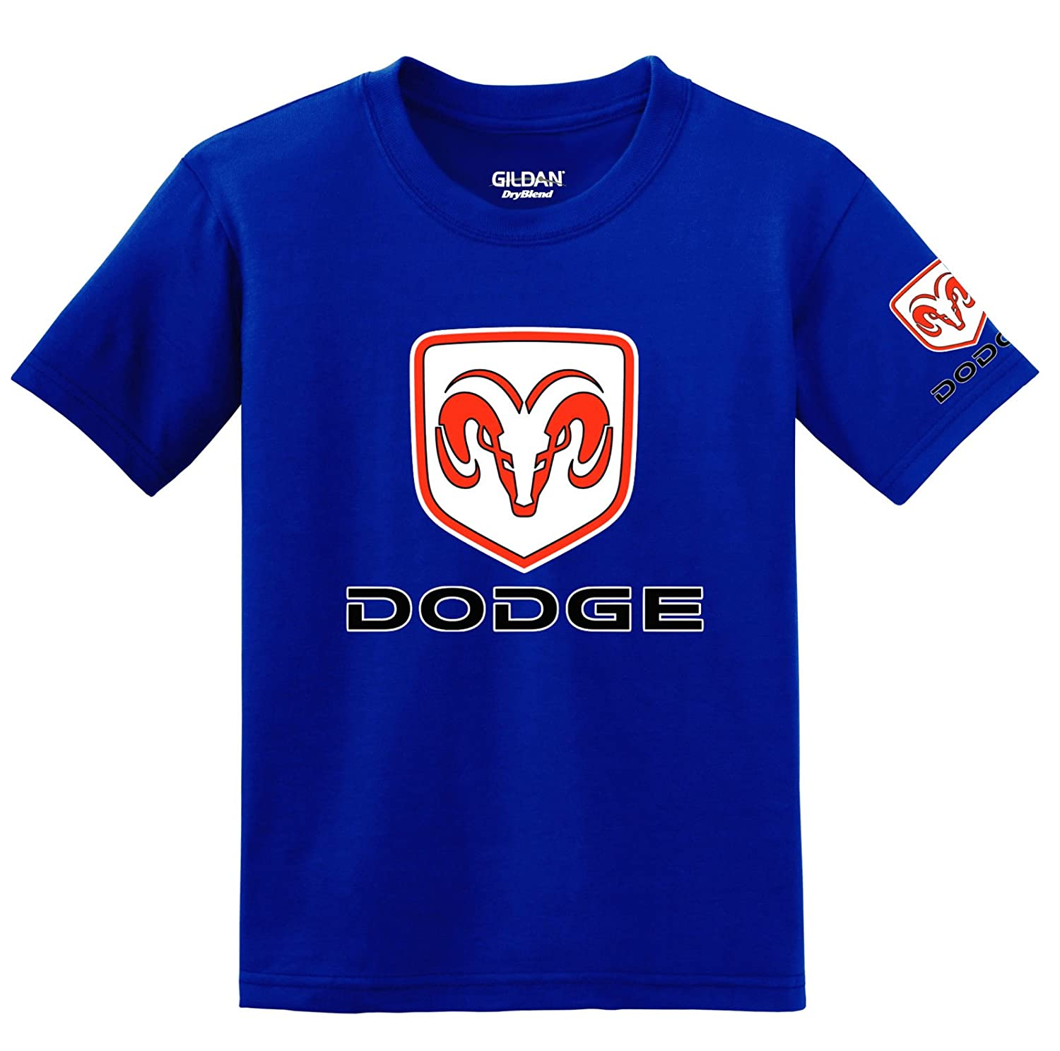 Dodge Logo with Sleeve T-shirt