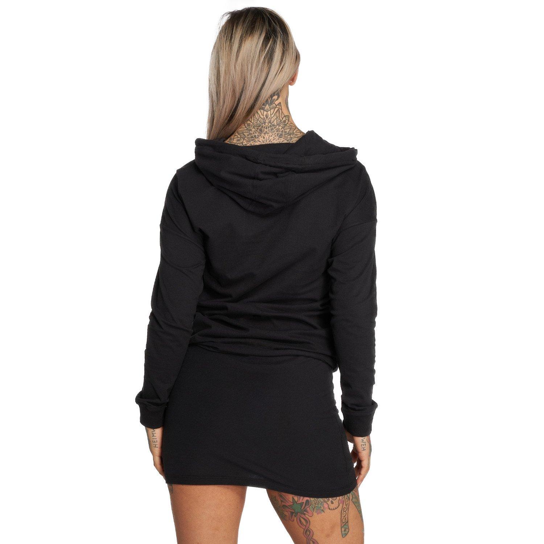 Yakuza Damen Basic Line Hoodie Kleid