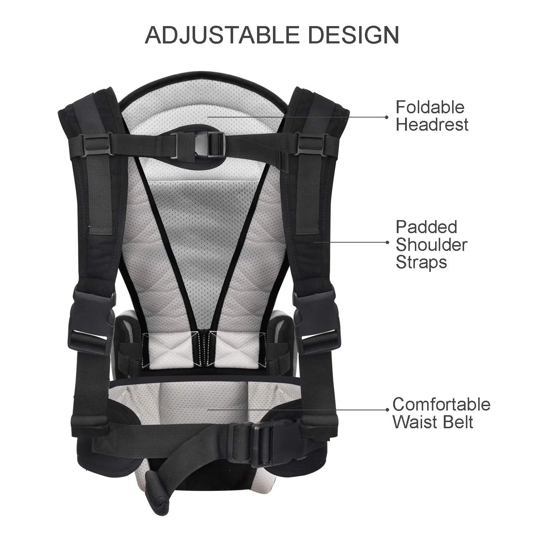 Amazon.com: Portabebés con asiento de cadera, portabebés ...