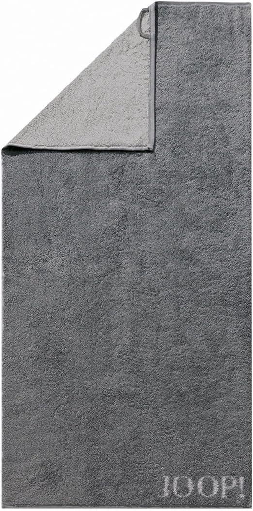 Joop Handtuch Classic Doubleface 1600 77 Anthrazit 50 X 100