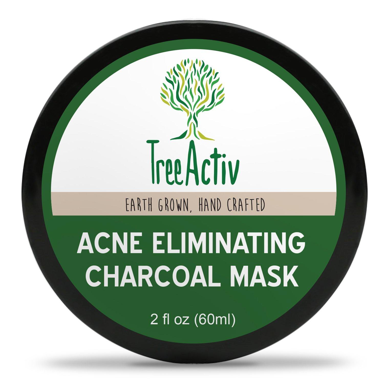 Amazon Com Treeactiv Acne Eliminating Charcoal Mask Natural