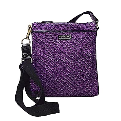 ccb17c917df2 Image Unavailable. Image not available for. Color  Coach Taylor Snake Print  Swingpack Crossbody Purse ...